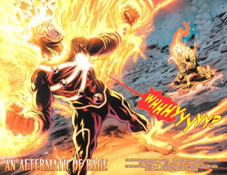 Firestorm 6 double page by Cinar