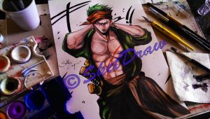 Zoro -One Piece- by Salvo91