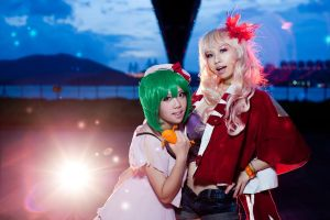 [Macross Frontier] Ready for our songs? by yamihoshi123