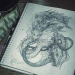 Dragon by jasric