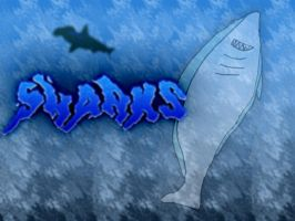 Sharks Background by ILHI
