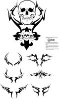 Free Tribal Vectors by artamp