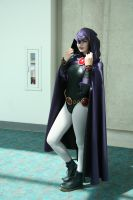 Raven Cosplay 2013 by Tiedwriter