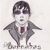 Barnabas  Portrait contest entry by AlloraDanon