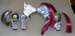 Custom Kissing Jack and Sally by customlpvalley