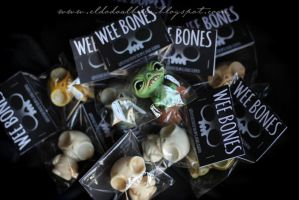 Wee bones packaging. by dodoalbino