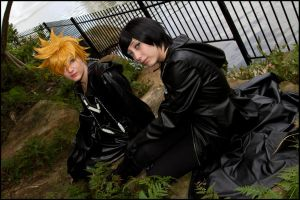 Roxas and Xion by nayzeers