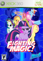Fighting is Magic Fan Box Art by rorycon