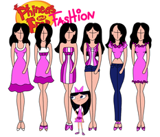 Phineas and Ferb fashion: Isabella by Willemijn1991