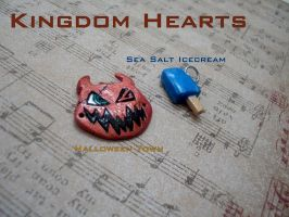 Kingdom Hearts Charms by GandaKris
