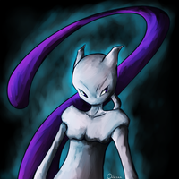 -Mewtwo- by OnixTymime