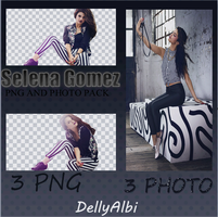 Selena Gomez Photo and Png Pack by DellyAlbi