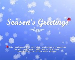 Season's Greetings Disclaimer by JRigh