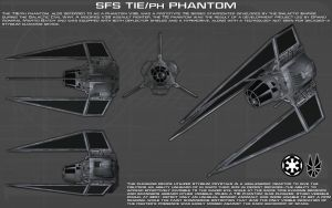 TIE/PH Phantom ortho [New] by unusualsuspex