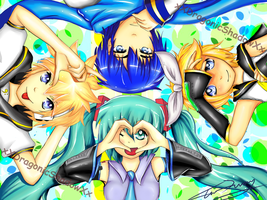 Vocaloids by TheKiwiSlayer