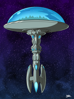Andalite Dome Ship by Blazbaros
