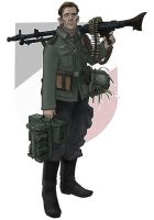 OST front MG-34 gunner by jimmymcwicked