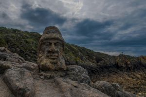Sculpted Head of Rotheneuf by todto