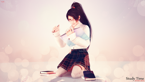 `~ Momiji : Study Time ~` by VeiradA