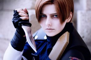 LEON S. KENNEDY - Cosplay - Rookie by Shinkan-Seto