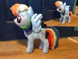 Rainbow Dash Plush by Chanditoys