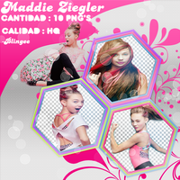 Pack Png De Maddie Ziegler :3 by BlingeeEditions