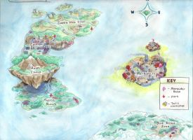 Sonic Chronicles Map by SpeedLimit-Infinity