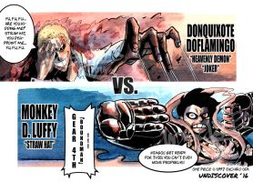 Doffy VS. Luffy by UNDISCOVER-art
