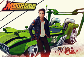 Mike Chilton Motorcity by MissWeirdCat