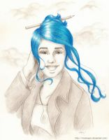 Daughter of Smoke and Bone: Karou by mseregon