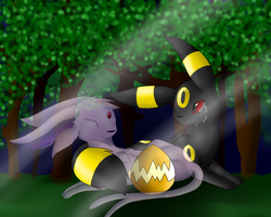 Umbreon never had a dream... by TwilightTheEevee