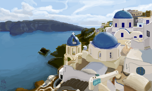 Somewhere In Greece-land by Miss-A-sketches