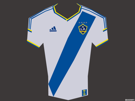 LA Galaxy MLS Jersey by caseharts