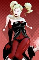 Gotham Girls Redesign: Harley Quinn by DanielHooker