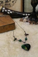 Warrior's Beads necklace project by Ruscraft