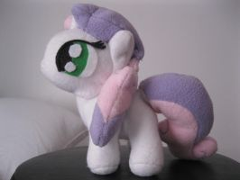 Filly Sweetie Belle Plushie - Side View by pyrmappege