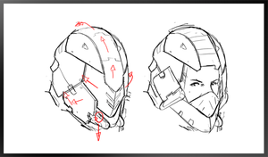 2D Helm animation by Eowynu