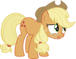 Applejack crying by j5a4