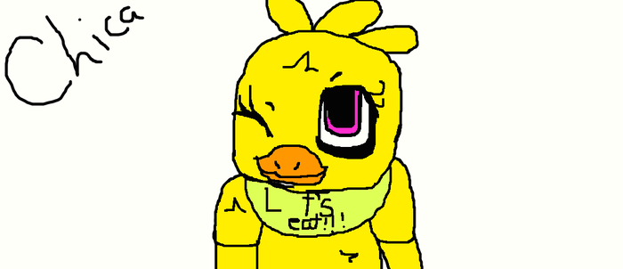 Chibi Chica by Fnaflover2234