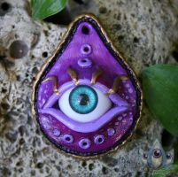 Consciousness Talisman by JulieBeloussow