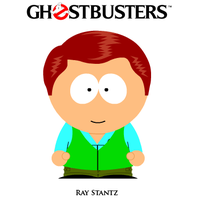 Ray Stantz South Park Avatar by MrAngryDog