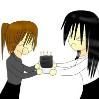 the death cake XD by AMPlifiedANIME