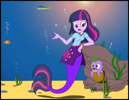 Equestria Mermaids, A Wrong Turn by PhysicRodrigo