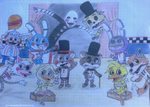 +..::five nights at freddy's 2 (hand drawing)::..+ by gloriapainthtf