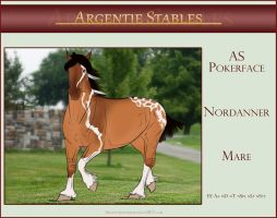 5993 AS Pokerface - SOLD by Argentievetri