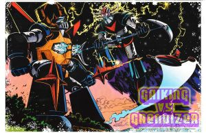 Gaiking vs Grendizer by fbwash