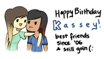 Happy Birthday Kassey! by Peapup