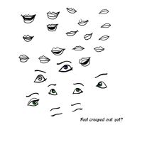 Disney Eye and Mouth Practise by Iova