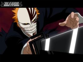 Ichigo Hollow Black by darkshadowsonic