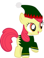 Apple Bloom the Elf by sakatagintoki117